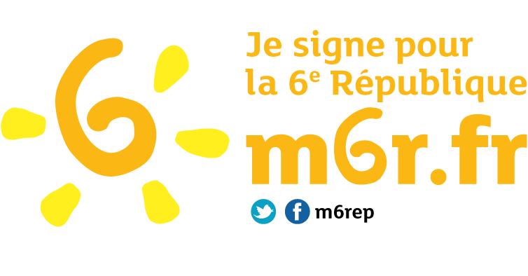 Je signe pour la 6e République